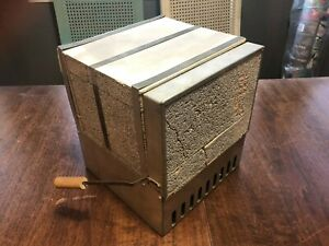 Vintage Antique Electric Kiln For Ceramics And Miniature Pottery Working