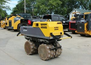 2015 Atlas Copco Lp8504 Trench Duplex Roller Padfoot Compactor W wireless Remote