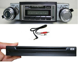 1966 1967 Cutlass 442 Radio 300 Watt W Cd Player Ipod Dock 630 Ii Stereo