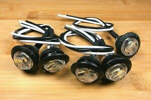 5 Bbt 12 Volt Waterproof Snap In Cool White Led Step Lights