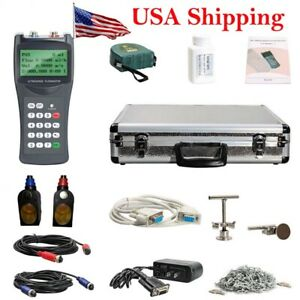 From Usa Tds 100h m2 Handheld Ultrasonic Flow Meter Clamp On Sensor dn50 700mm