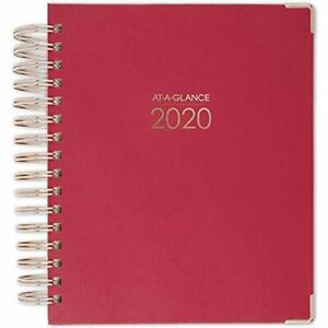 At a glance 2020 Planners Weekly Monthly Planner 5 1 2 X 8 1 2 Small Geo
