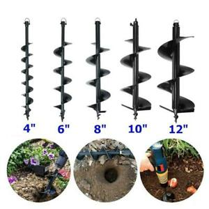 Auger Drill Shock Absorber Extension For One Man Post Hole Digger Fence Earth