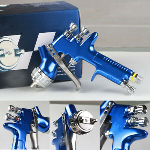 Car 1 3mm Spray Gun With Cups For All Auto Paint Topcoat And Touch up Shenkenuo