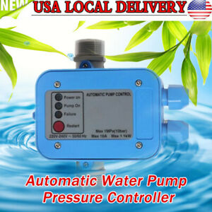 Automatic Water Pump Pressure Controller Electronic Controller Switch Gardern Us