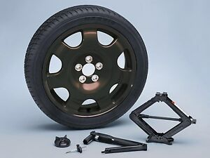 2015 2019 Mustang Oem Genuine Ford Black Spare Wheel Tire Kit With Jack