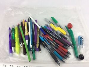 Pen Collection Lot With Many Pilot G 2 G2 And Other Unique Pens