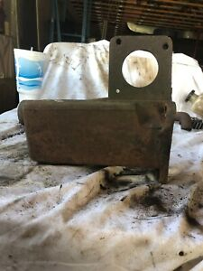 John Deere Styled B Radiator muffler Support Upper Water Pipe Casting