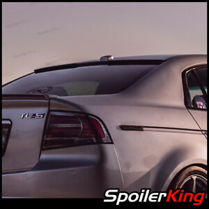 Rear Window Roof Spoiler W Center Cut Fits Acura Tl 2004 2008 818rc