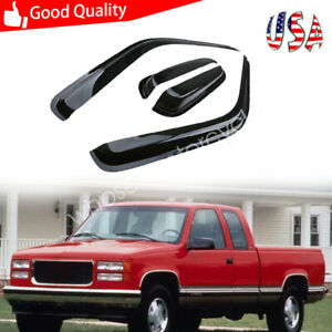 Window Visor For Chevrolet Tahoe gmc Yukon 4 door1995 1996 1997 1998 1999 2000