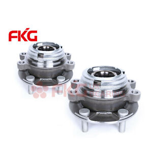 2 new Front Wheel Hub Bearing Assembly For Nissan Murano Quest Awd Fwd 513310
