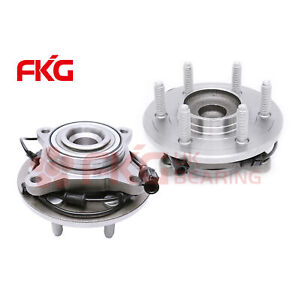 Pair 2 Front Wheel Hub Bearing Assembly For 03 06 Ford Expedition Lincoln 515042