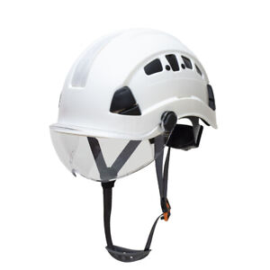 Defender Safety H1 ch With Visor Industrial Construction Safety Helmet