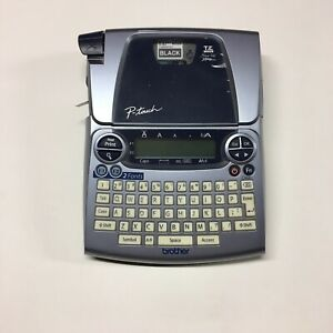 Brother P touch Deluxe Label Maker Pt 1880 Tested Works