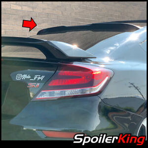 Spoilerking 380rc Rear Window Spoiler W Center Cut Fits Civic 2012 2015 2dr