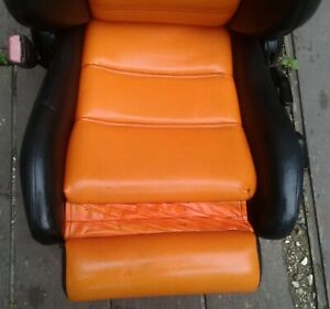 No Shipping 1987 1993 Bmw E30 3 Series Convertible Front Seats Left Right Custom