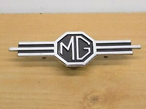 Aug Bs1004 130254 Mg Radio Delete Dash Panel Emblem Mga Mgb Parts Oem