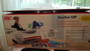 Gbc Docuseal 125 12 Document Laminating Machine Home Or Office New