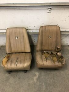 Chevy Gmc Pickup Truck Low Back Bucket Sests 75 76 77 Square Body