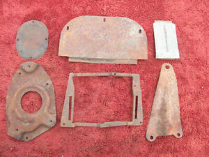 1953 1954 1955 1956 Ford Truck Brackets And Covers Parts Lot