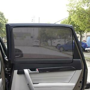 Magnetic Car Side Back Window Sun Shade Visor Anti Uv Cover Protection Sunshade
