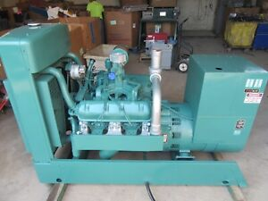70 Kw Natural Gas Propane Generator Onan Re connectable Single Or Three Phase