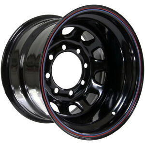 4 american Racing Ar767 16x8 8x6 5 12mm Black stripes Wheels Rims 16 Inch