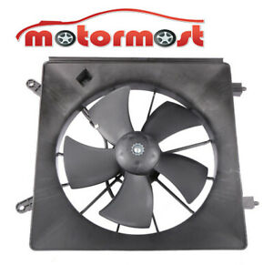 New 1pc Lh Radiator Cooling Fan Assembly Motor For 02 06 Honda Crv 03 08 Element