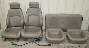 1998 2002 Trans Am Ws6 Tan Factory Leather Seats Front And Rear Used Oem Gm