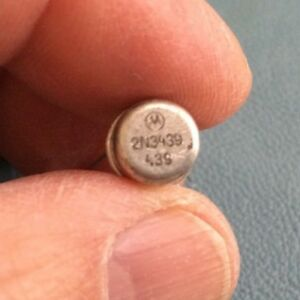 2n3439 High Voltage Silicon Low Power By Motorola