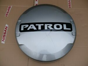 Cover Spare Wheel For Nissan Patrol Y61 Ky0 Color Silver