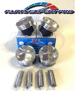 Ycp 81 5mm High Compression Pistons Acura Integra Civic Si Type R B16 B18