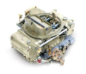 Holley Classic Carburetor 600 Cfm 4160 4bbl Manual Choke Vacuum Secondaries Gold