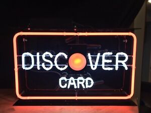 Discover Card Neon Sign 15 X 24
