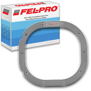 Fel Pro Rear Differential Cover Gasket For 2001 2005 Ford Explorer Sport Qv