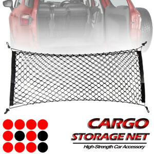 Cargo Trunk Net Double Layers Organizer Rear Car Storage Envelope For Subaru