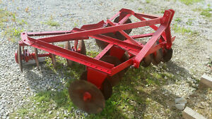 Ford 6 1 2 Wide 3 point Disc Harrow