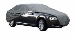 High Quality Waterproof Car Cover Outdoor Rain Uv Breathable Small Size S Grey