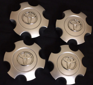 Toyota Tundra 2003 2004 2005 2006 Wheel Center Hub Caps Silver 560 69440 4 Pc