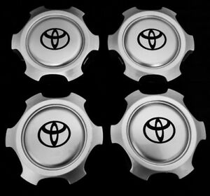 Wheel Center Cap Hub For Tacoma Tundra 4runner 6 Lugs 15 And 16 Rim 4xpc Only