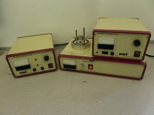 Spi Supplies Module Controls Vacuum Base 11425 Sputter And Carbon Coater As Is