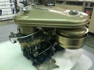 1955 56 Cadillac Dual Quad Intake Carburetors S And Air Cleaner