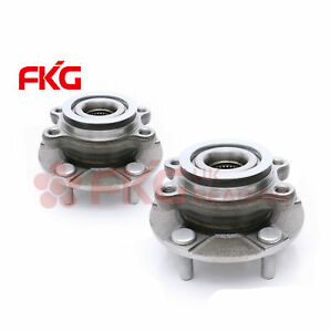2 Front Wheel Bearing Hub W Abs For 2008 2009 2011 2012 2013 Nissan Rogue 513298