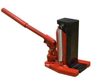 Up To 20 Ton Manual Hand Operate Hydraulic Toe Jack