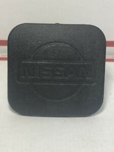 Nissan Titan Frontier Rubber 1 1 4 Black Trailer Hitch Receiver Cover Cap Plug