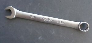 11mm Napa Combination End Wrench Ndm51 Made In Usa