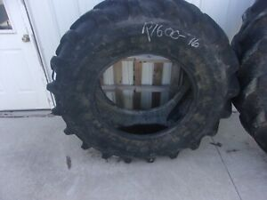 Firestone Performer 85 420 85r28 Tractor Combine Sprayer Tire Used