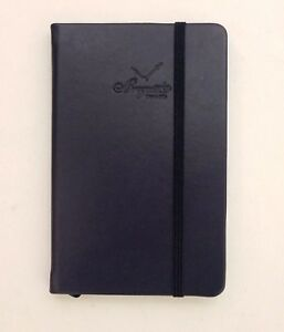 Breguet Limited Ed Leather Navy Blue Notebook Journal Planner Notepad Rare