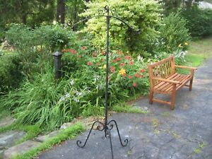 Vintage Wrought Iron Clothes Rack Stand Suit Clothing Display 3 Piece Hall Tree