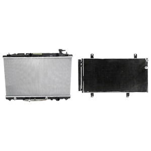 Radiator A c Condenser Kit For Toyota Avalon Camry Venza